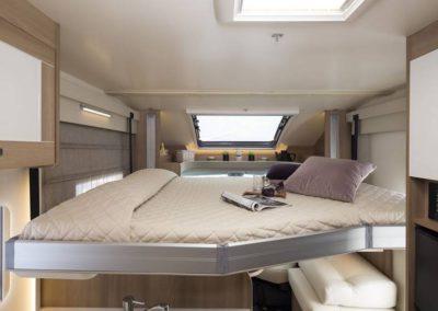 Motorhome Magis 66 XT 5 places - Chambre mezzanine
